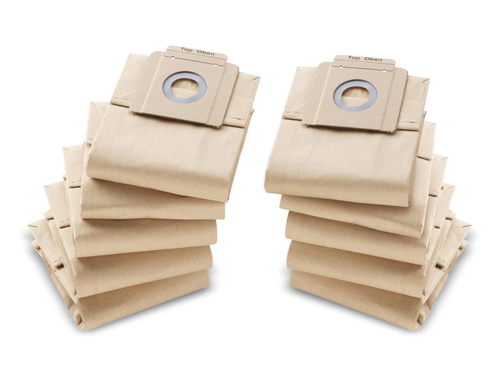 Фильтр-мешки Karcher 10шт 6.904-333.0 бумажные