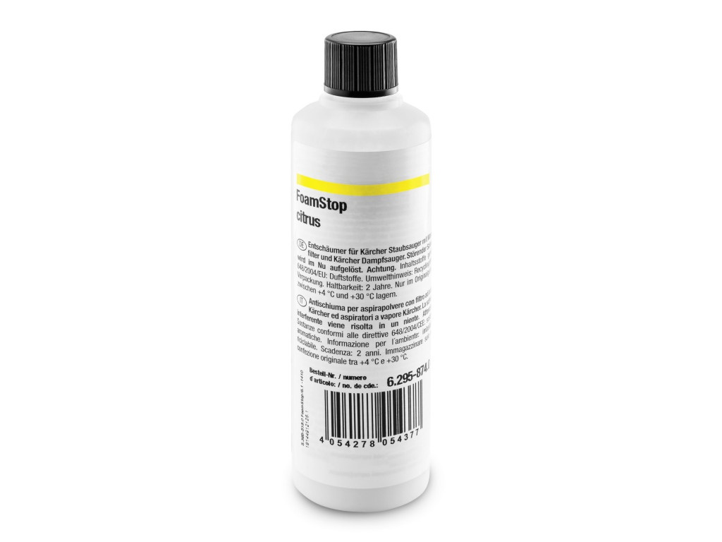 Пеногаситель Karcher цитрусовый 125ml 6.295-874.0