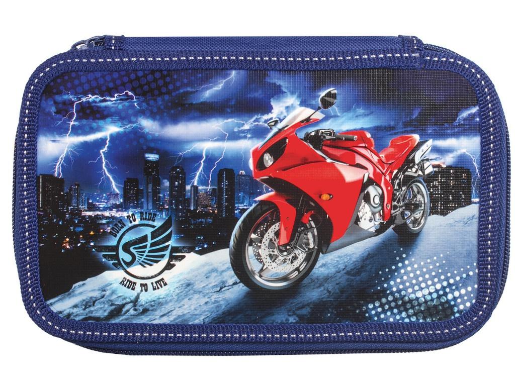 Пенал Юнландия Мотоцикл 228262