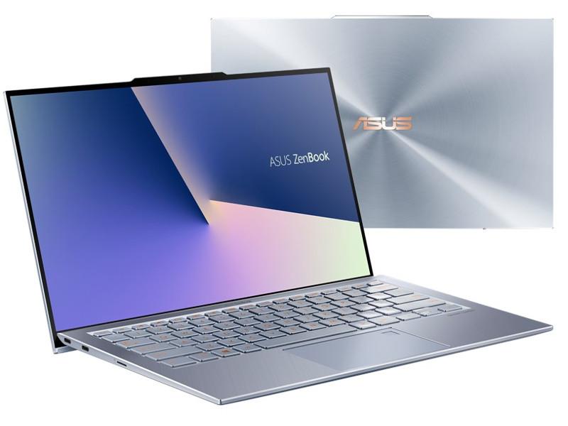 Ноутбук ASUS UX392FA-AB021R 90NB0KY1-M01190 (Intel Core i7-8565U 1.8 GHz/16384Mb/512Gb SSD/Intel HD Graphics/No ODD/Wi-Fi/Bluetooth/Cam/13.9/1920x1080/Windows 10 Pro)
