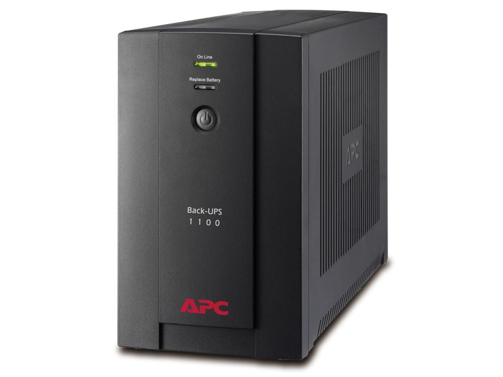 Источник бесперебойного питания APC Back-UPS 1100VA 550W Black BX1100LI