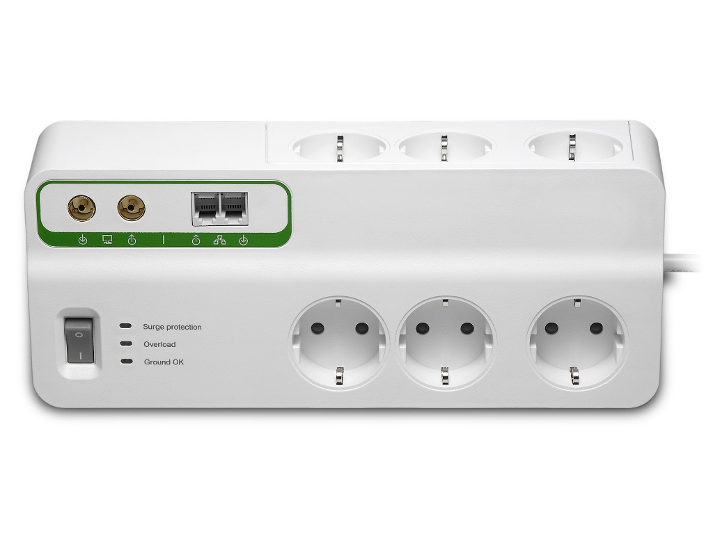 все цены на Сетевой фильтр APC Home/Office 6 Sockets 2xRJ-11 RCA 3m White PMH63VT-RS онлайн