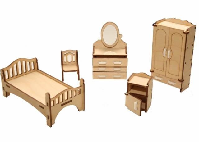 Сборная модель ХэппиДом Набор мебели Спальня HK-M001
