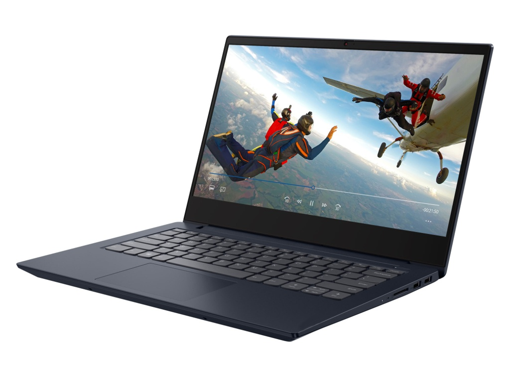 Ноутбук Lenovo S340-14IWL Blue 81N700J1RU (Intel Core i3-8145U 2.1 GHz//8192Mb/256Gb SSD/No ODD/Intel HD Graphics/Wi-Fi/Bluetooth/Cam/14/1920x1080/Windows 10) пк lenovo thinkcentre m710 tiny i3 7100t 3400 мгц 8гб 1тб intel hd graphics 630 встроенная нет dvd windows 10 pro 10mr005jru
