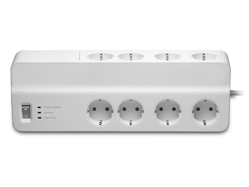 Сетевой фильтр APC Essential 8 Sockets 2m White PM8-RS