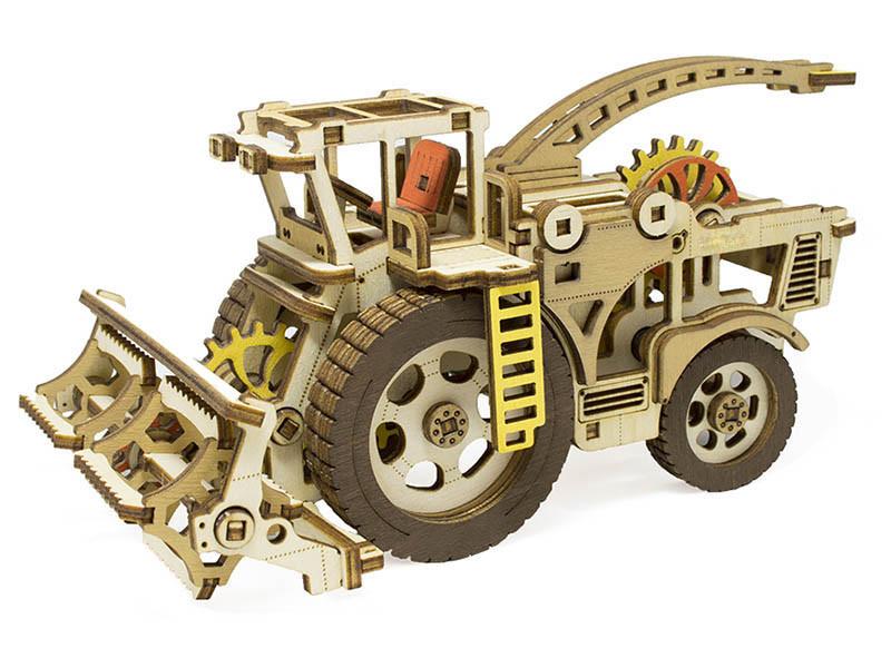 Сборная модель M-Wood Комбайн Hardy MW-404
