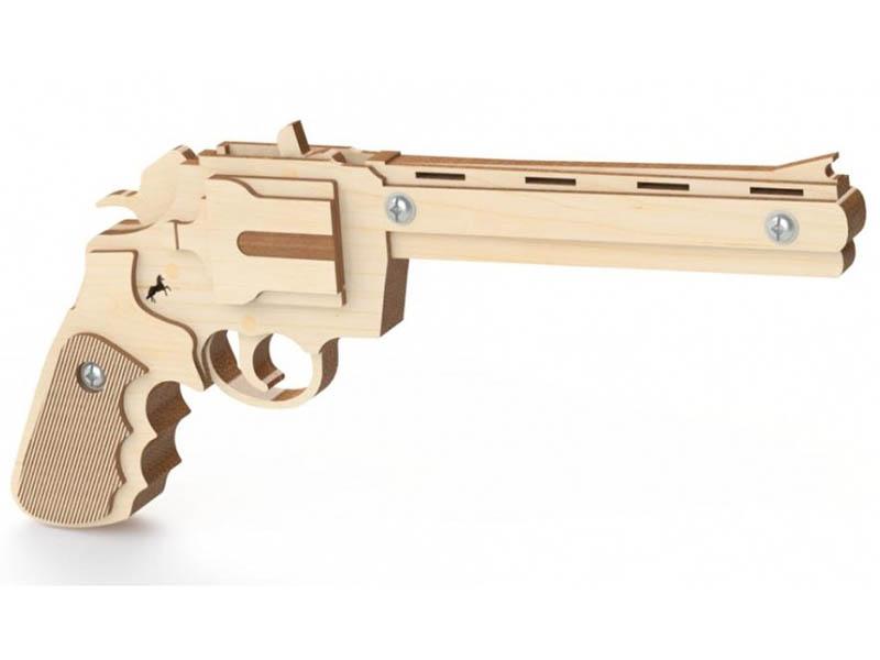 Сборная модель Древо Игр Резинкострел Револьвер DI-P004