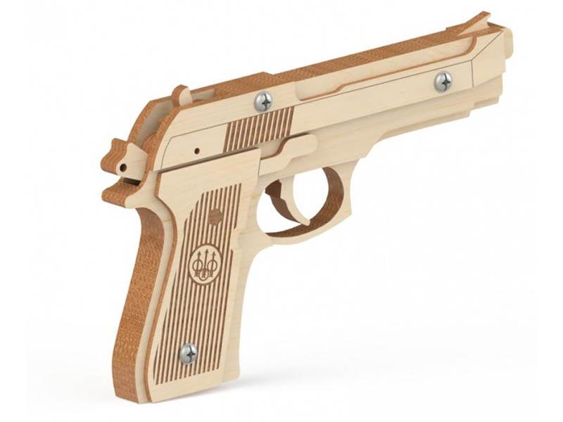 Сборная модель Древо Игр Резинкострел Беретта DI-P003