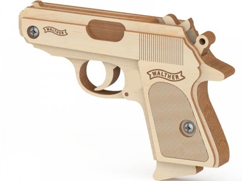 Сборная модель Древо Игр Резинкострел Вальтер DI-P002