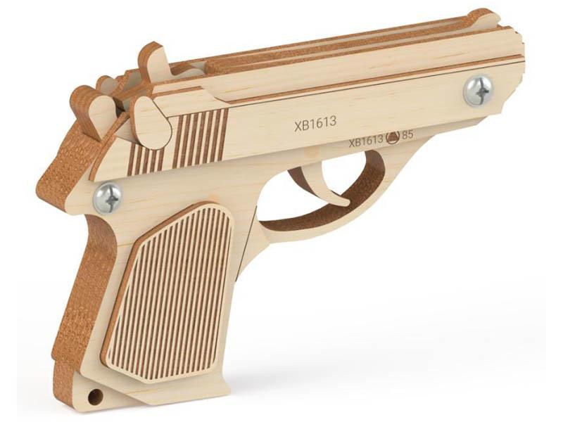 Сборная модель Древо Игр Резинкострел Байкал DI-P001