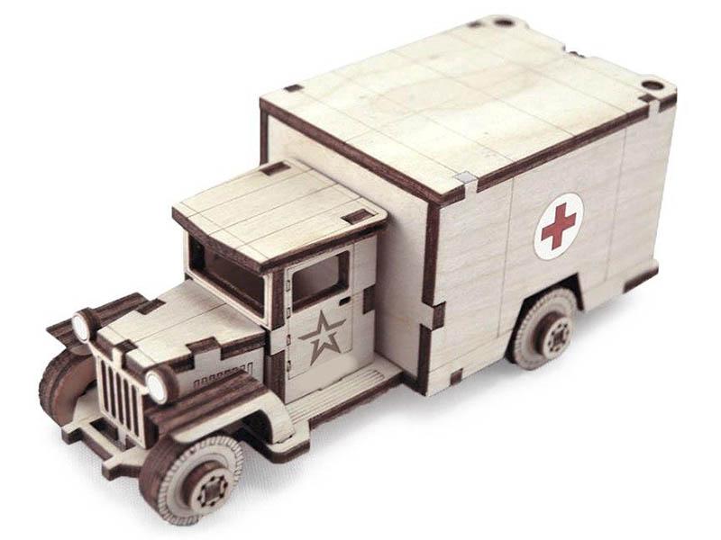 Сборная модель Армия России Советский грузовик ЗИС-5м TY339-A25