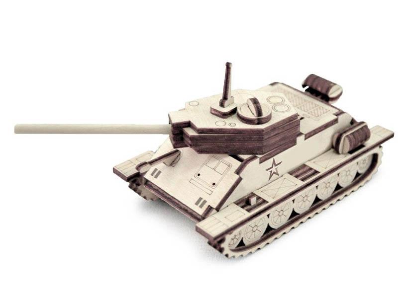 Сборная модель Армия России Танчик Т-34 TY339-A20