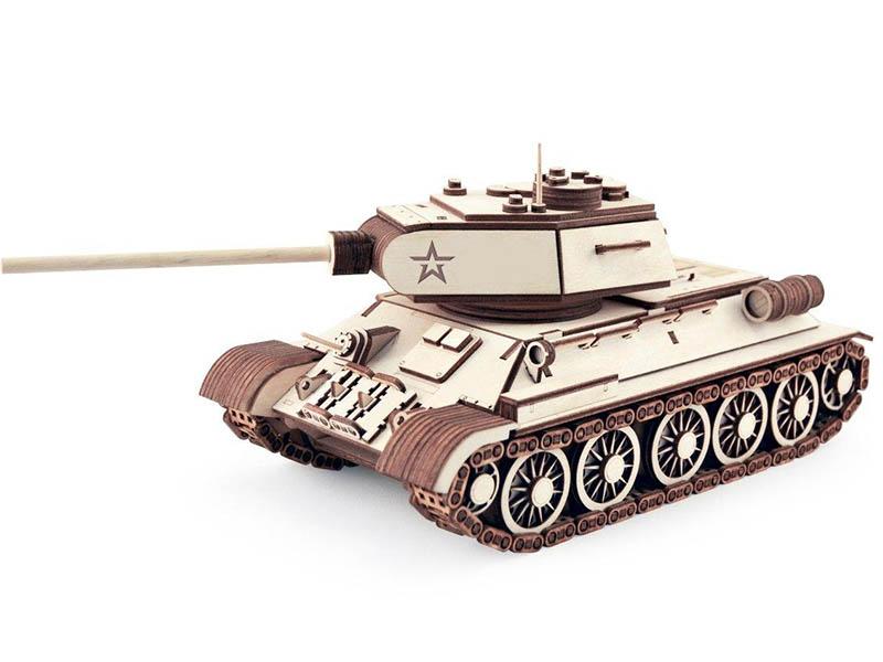 Сборная модель Армия России Танк Т-34-85 TY339-A17