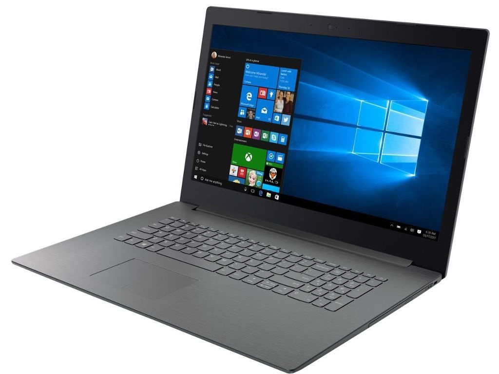 Ноутбук Lenovo V320-17IKB Grey 81AH006FRU (Intel Pentium 4415U 2.3 GHz/4096Mb/1000Gb/DVD-RW/Intel HD Graphics/Wi-Fi/Bluetooth/Cam/17.3/1600x900/Windows 10)