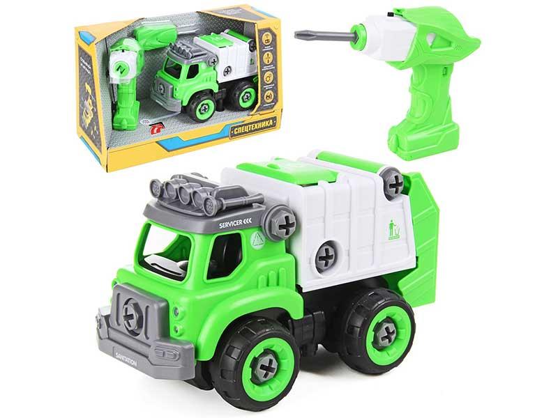Игрушка Drift Грузовик-мусоровоз с компактором 82654