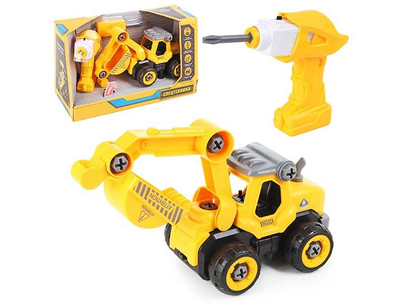 Игрушка Drift Грузовик с экскаватором 82648