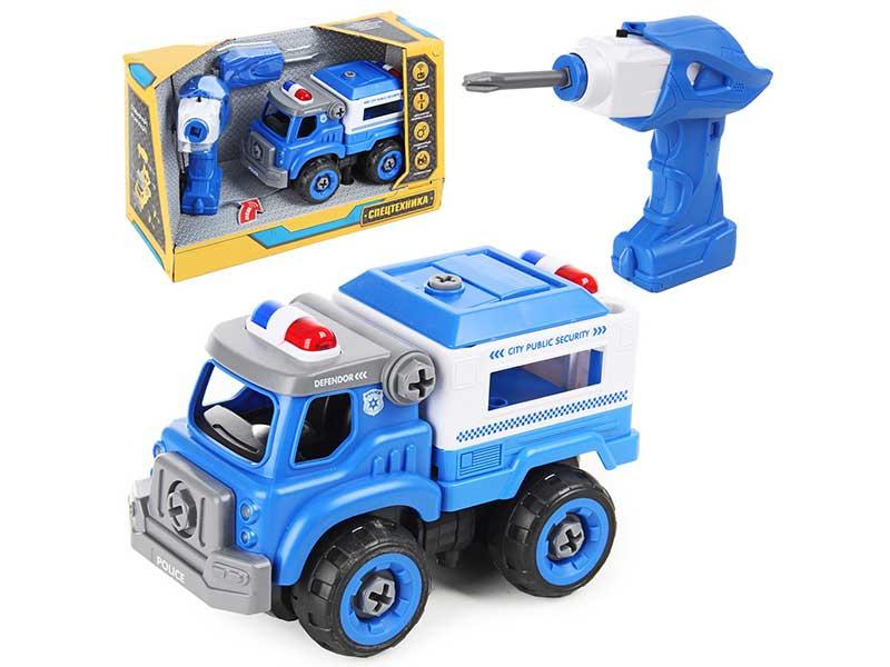 Игрушка Drift Полицейская машина со спасательным краном 82651