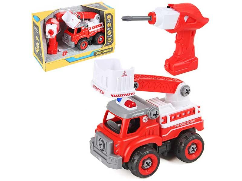 Игрушка Drift Пожарный автомобиль с подъемным краном 82653