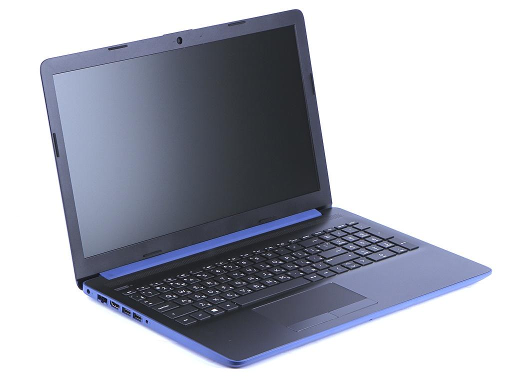 Ноутбук HP 15-db0180ur Blue 4ML07EA (AMD A6-9225 2.6 GHz/4096Mb/128Gb SSD/AMD Radeon R4/Wi-Fi/Bluetooth/Cam/15.6/1920x1080/DOS)