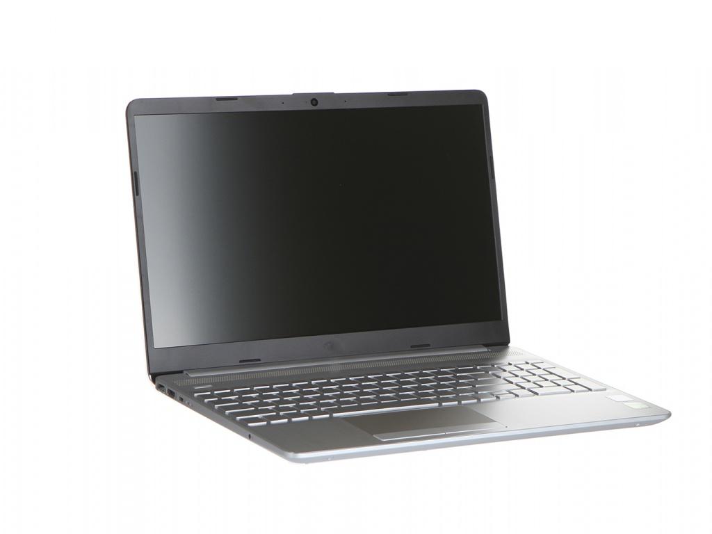Ноутбук HP 15-dw0019ur Silver 6RP27EA (Intel Core i3-7020U 2.3 GHz/4096Mb/128Gb SSD/nVidia GeForce MX110 2048Mb/Wi-Fi/Bluetooth/Cam/15.6/1920x1080/DOS)