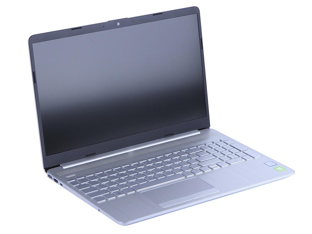 Ноутбук HP 15-dw0021ur Silver 6RM25EA (Intel Core i5-8265U 1.6 GHz/4096Mb/256Gb SSD/nVidia GeForce MX130 2048Mb/Wi-Fi/Bluetooth/Cam/15.6/1920x1080/DOS) ноутбук hp 15 da0176ur intel core i5 8250u 1600 mhz 15 6 1920x1080 8gb 256gb ssd dvd нет nvidia geforce mx130 wi fi bluetooth windows 10 home