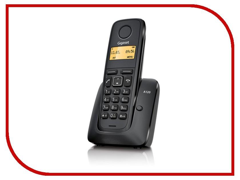 Радиотелефон Gigaset A120 Black радиотелефон gigaset a415a a415am