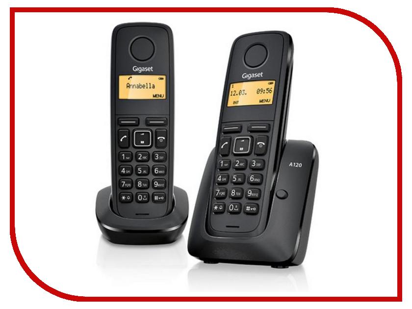 DECT телефоны A120 DUO  Радиотелефон Gigaset A120 DUO