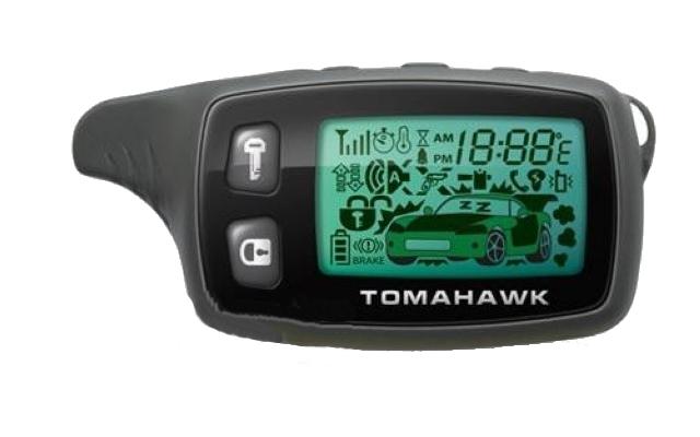 Брелок Tomahawk TW-9010 / 7000 9000 950 с жк-дисплеем