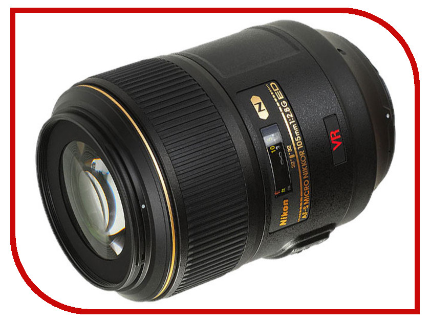 Объектив Nikon Nikkor AF-S 105 mm F/2.8 G IF-ED VR Micro free shipping new and original for niko lens af s nikkor 70 200mm f 2 8g ed vr 70 200 protector ring unit 1c999 172