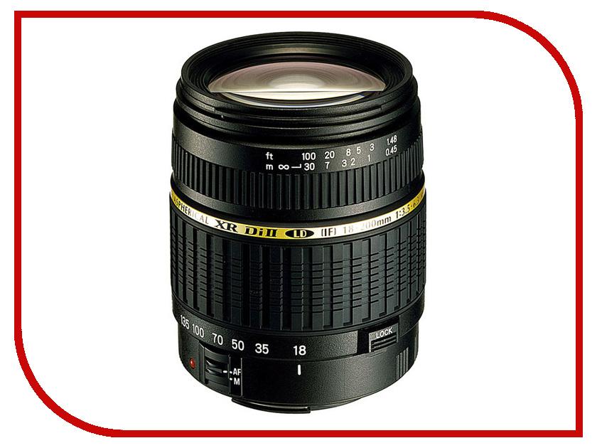 Объектив Tamron Canon AF 18-200 mm F/3.5-6.3 XR Di II LD Aspherical (IF) Macro<br>