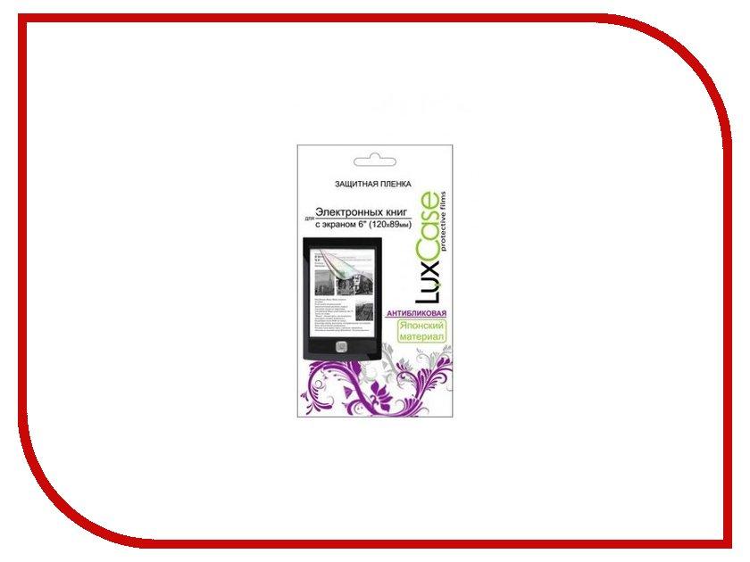Аксессуар Защитная пленка LuxCase 6.0 антибликовая 120x89mm 80125<br>