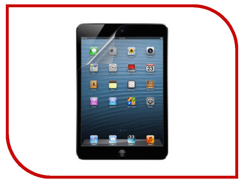 Аксессуар Защитная пленка LuxCase для iPad 2 / iPad 3 New матовая 80205 защитная плёнка для ipad 2 the new ipad ipad 4gen luxcase carbon front черный