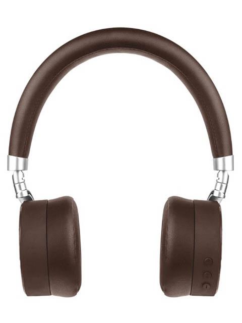 лучшая цена Наушники Rombica mysound BH-12 Brown