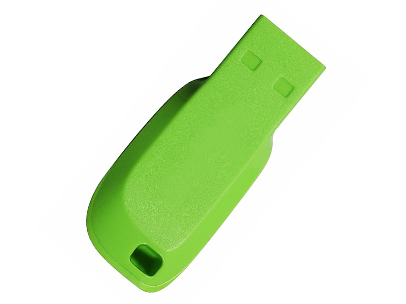 USB Flash Drive 16Gb - SanDisk Cruzer Blade Electric Green SDCZ50C-016G-B35GE