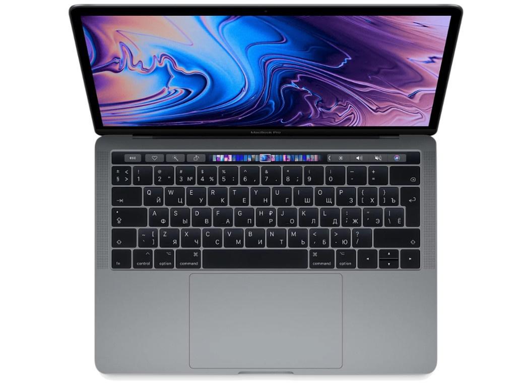 Ноутбук APPLE MacBook Pro 13 2019 MV972RU/A Space Grey Выгодный набор + серт. 200Р!!!(Intel Core i5 2.4GHz/8192Mb/512Gb/Intel HD Graphics/Wi-Fi/Bluetooth/Cam/13.3/Mac OS)