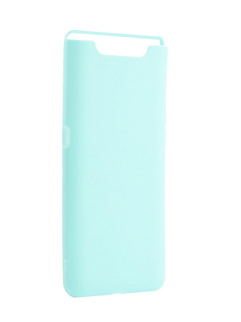 ЧехолZibelinoдляSamsungGalaxy A80A8052019SoftMatte Turquoise ZSM-SAM-A80-TQS
