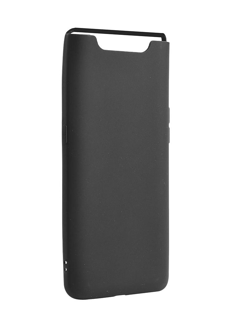 ЧехолZibelinoдляSamsungGalaxy A80A8052019SoftMatte Black ZSM-SAM-A80-BLK