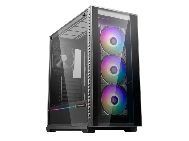 Корпус Deepcool Matrexx 70 ADD-RGB 3F Black ATX Без БП