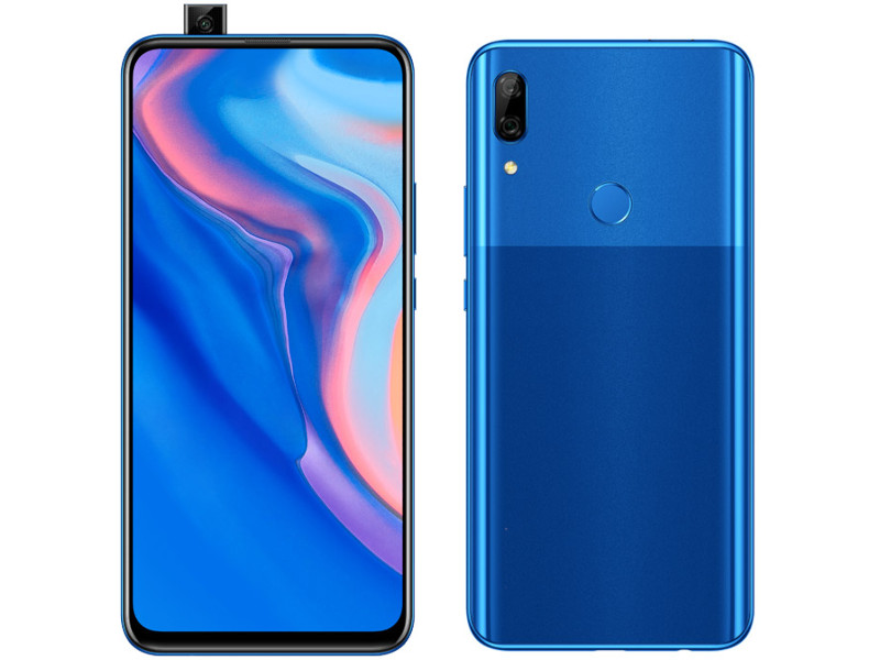 Фото - Сотовый телефон Huawei P Smart Z 4/64Gb Sapphire Blue Выгодный набор + серт. 200Р!!! сотовый телефон huawei y7 2019 4 64gb aurora purple