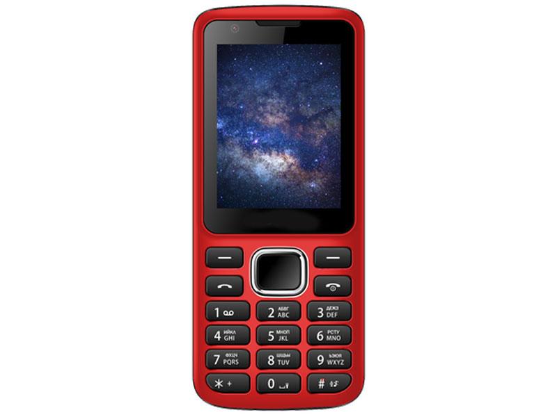 Сотовый телефон Nobby 230 Red-Black NBC-BP-24-33