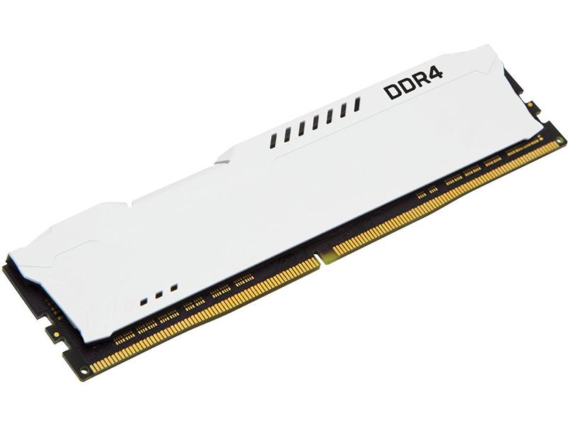 Модуль памяти Kingston HyperX Fury White DDR4 DIMM 3466MHz PC4-27700 CL19 - 16Gb KIT (2x8Gb) HX434C19FW2K2/16