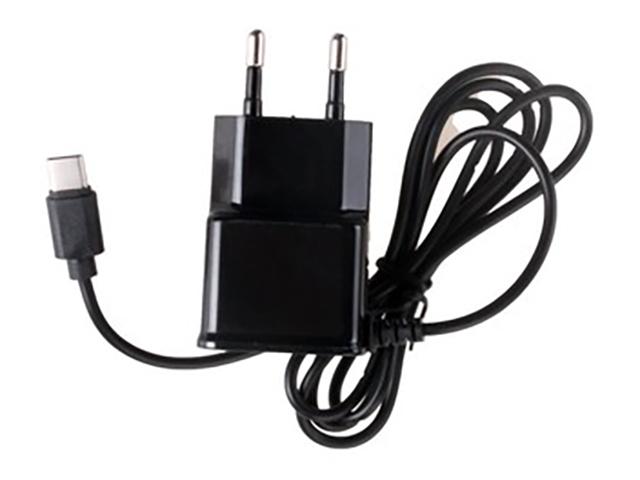 Зарядное устройство Exployd Type-C 1.0m 2А Black EX-Z-257
