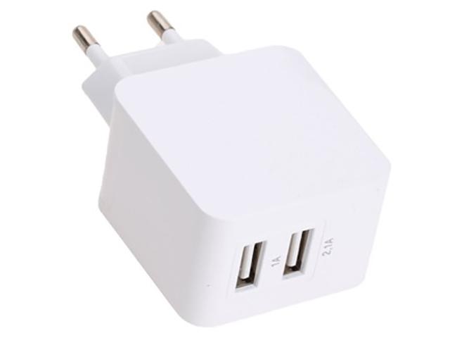 Зарядное устройство Exployd Prime 2хUSB 3.1A White EX-Z-345
