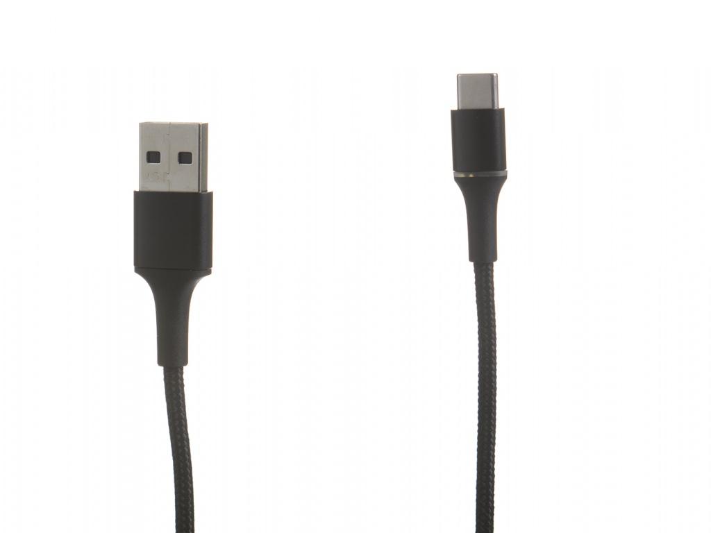 Аксессуар Baseus Halo USB - Type-C 3A 0.5m Black CATGH-A01