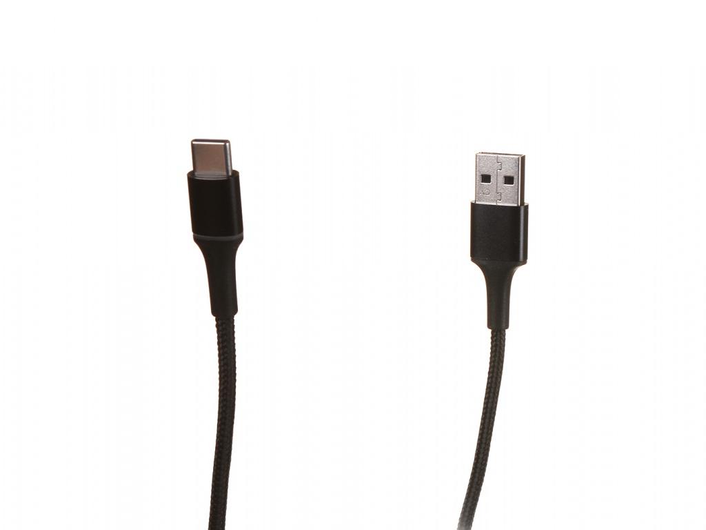 Аксессуар Baseus Halo USB - Type-C 3A 1m Black CATGH-B01