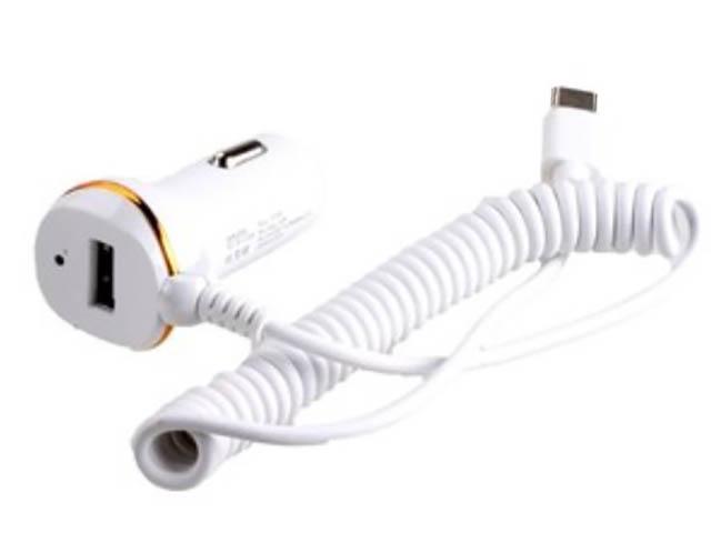 Зарядное устройство Exployd 1хUSB + MicroUSB 1.4m 2.1А White EX-Z-244