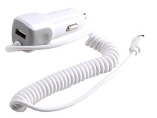 Зарядное устройство Exployd 1хUSB + MicroUSB 1.4m 2.1А White EX-Z-238