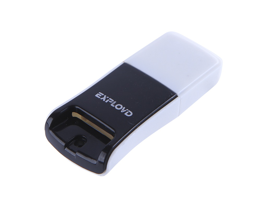 Кардридер Exployd MicroSD - USB 2.0 Black EX-AD-261