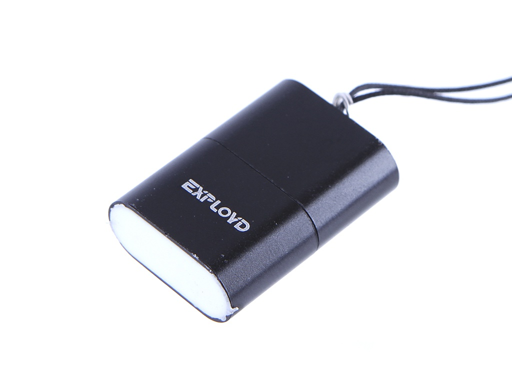 Кардридер Exployd MicroSD - USB 2.0 Black EX-AD-266 адаптер питания vision ad e95100