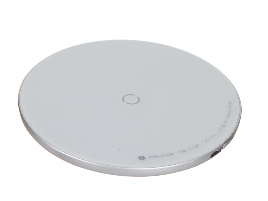 Зарядное устройство Baseus Simple Wireless Charger White CCALL-JK02